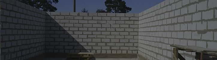 стены-пенобетон